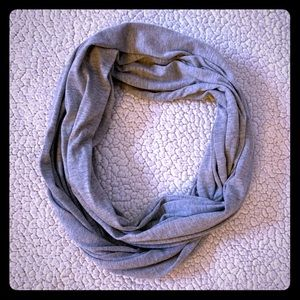 Charlotte Russe Gray Infinity Scarf